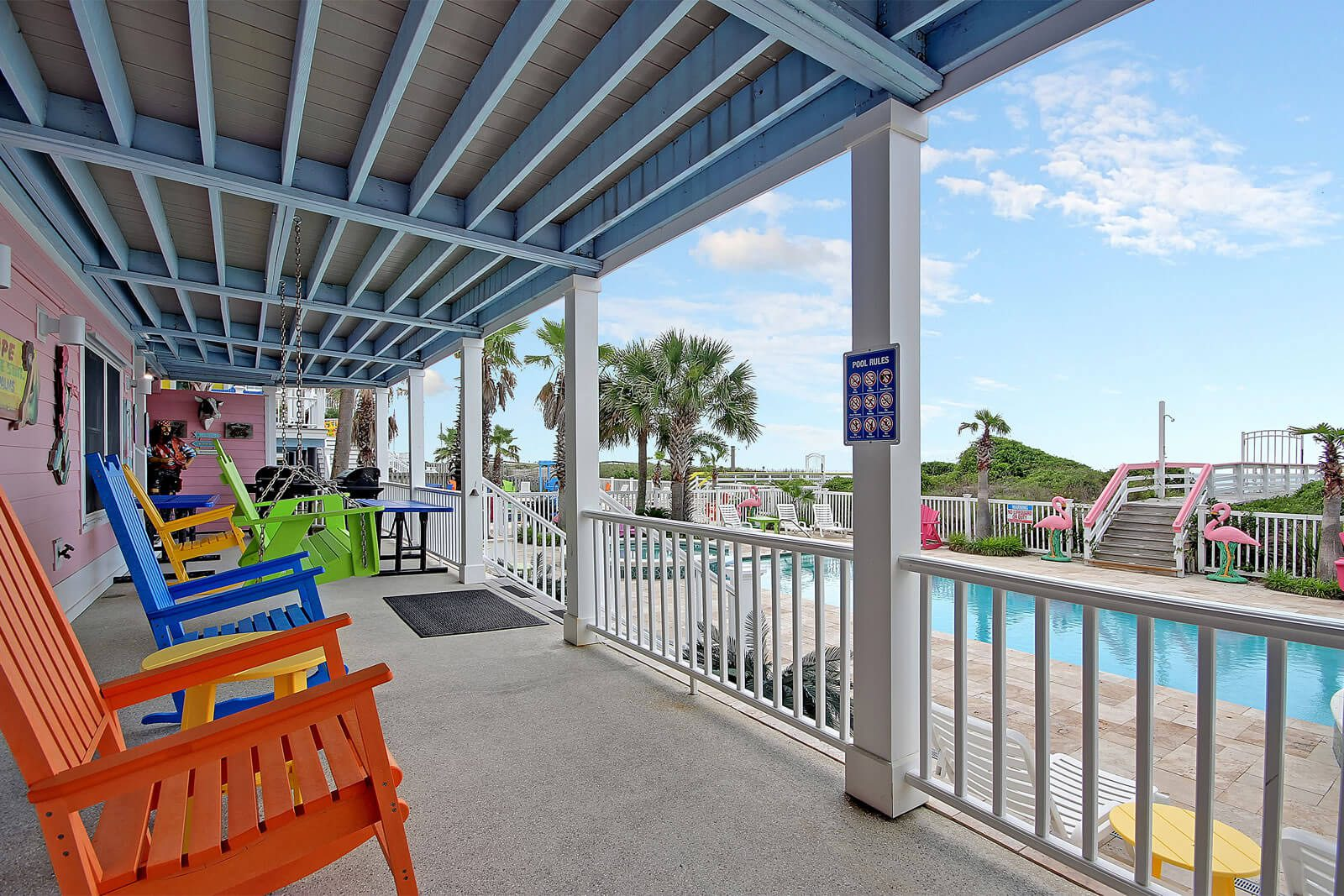 Casa Flamingo Back Deck Right - Isle of Palms, SC