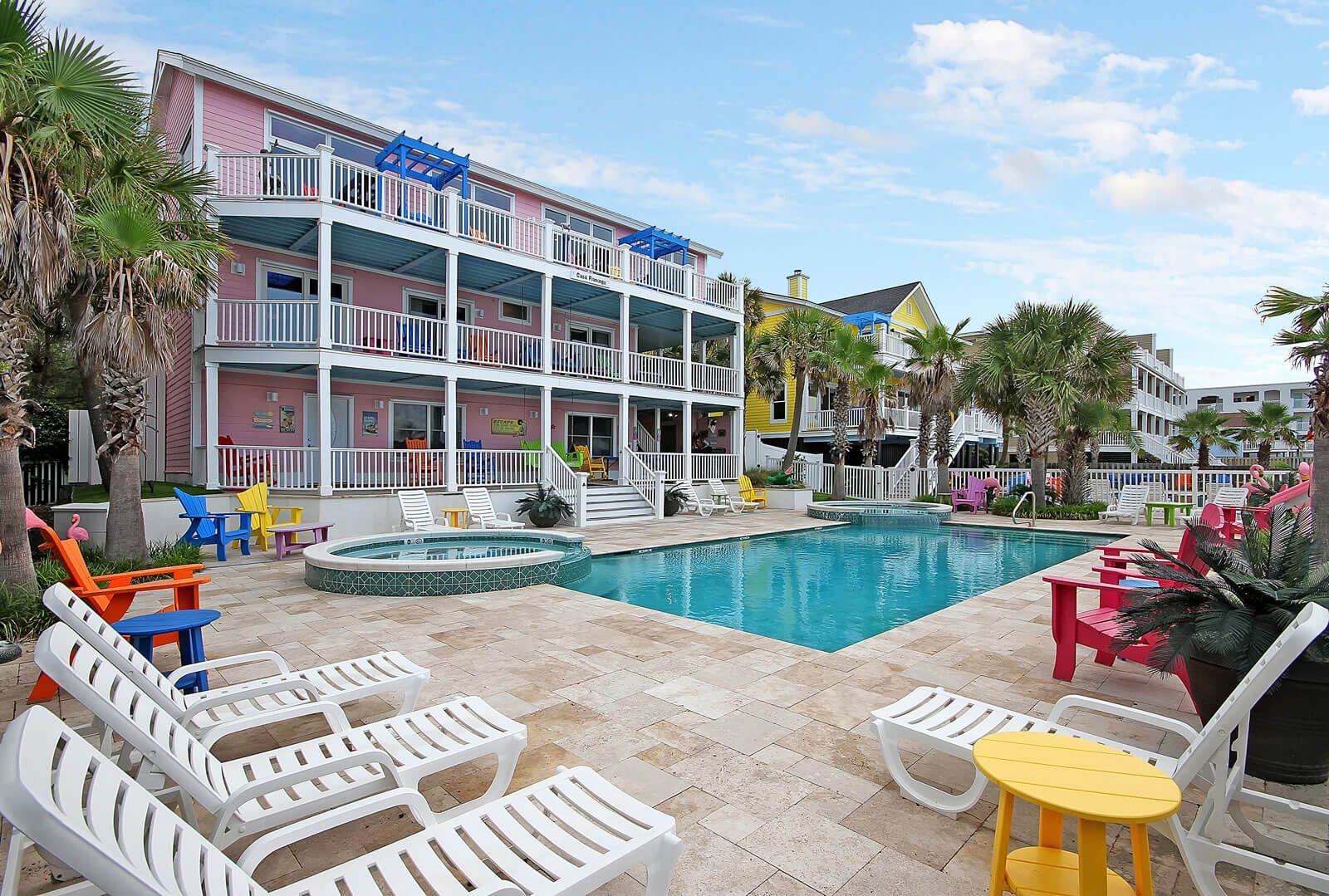Casa Flamingo Private Pool and Kiddie Pools - Isle of Palms, SC