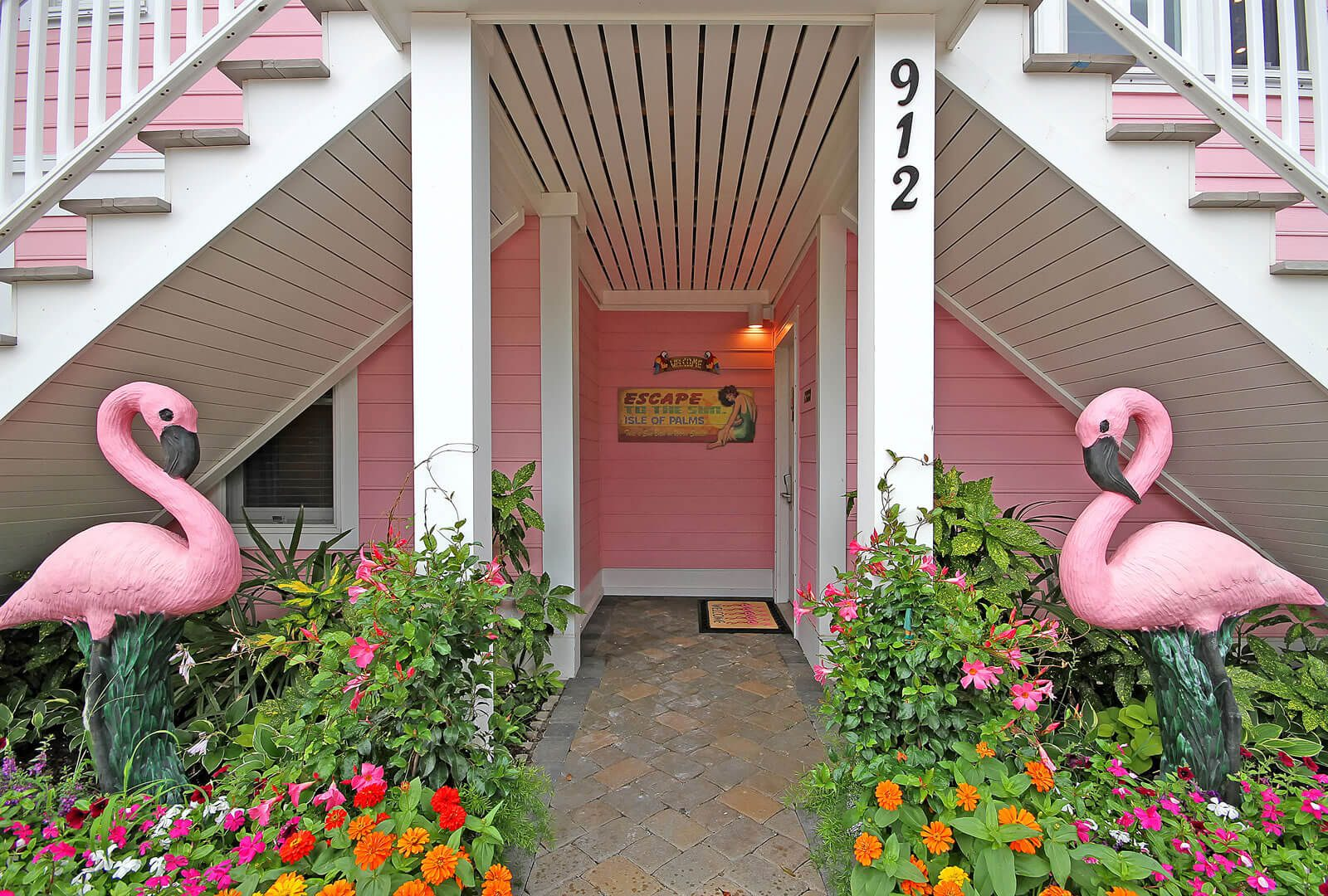 Casa Flamingo First Floor Entry - Isle of Palms, SC